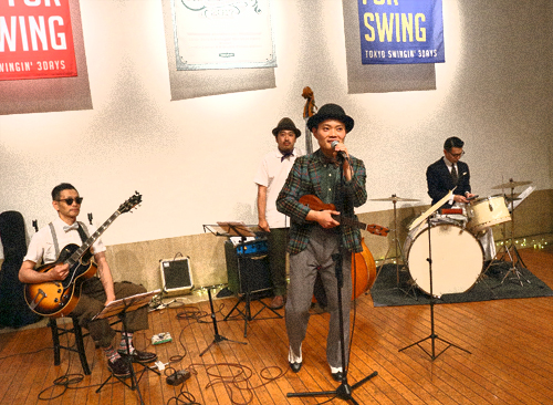 Little Fats & Swinging' Hot Shot Party